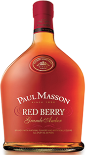 Paul Masson Brandy Grande Amber Red Berry...